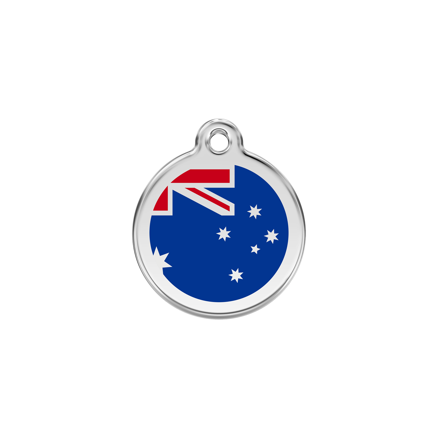Australian Flag Pet Tag