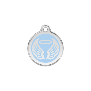 Angel Wings Pet Tag
