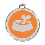 Bone in Bowl Pet Tag