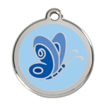 Butterfly Pet Tag
