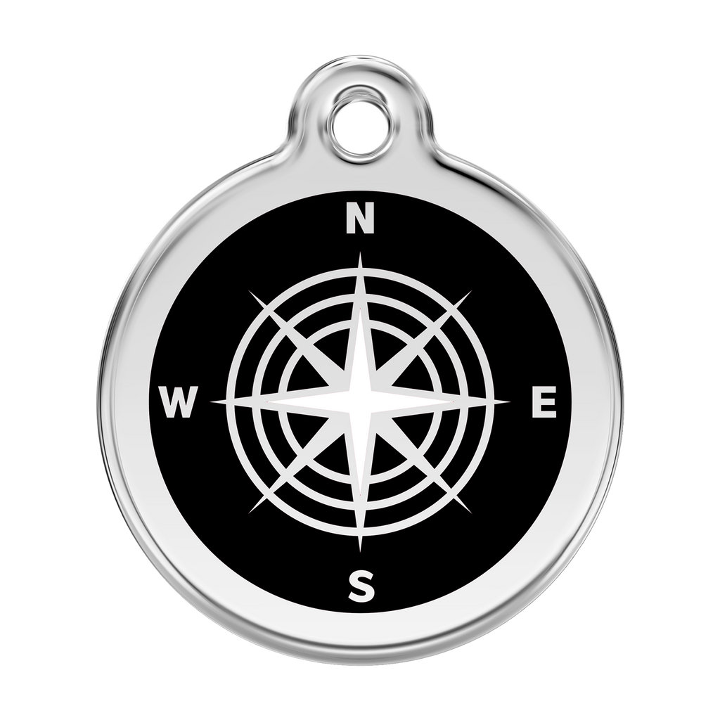 Compass Pet Tag