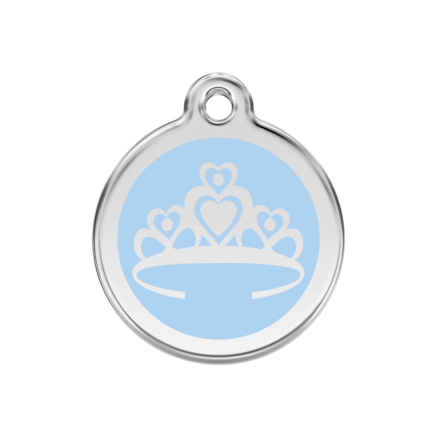 Crown Pet Tag