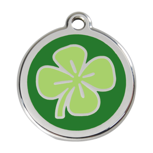Clover Pet Tag