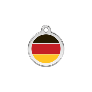 German Flag Pet Tag