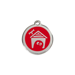 Dog House Pet Tag