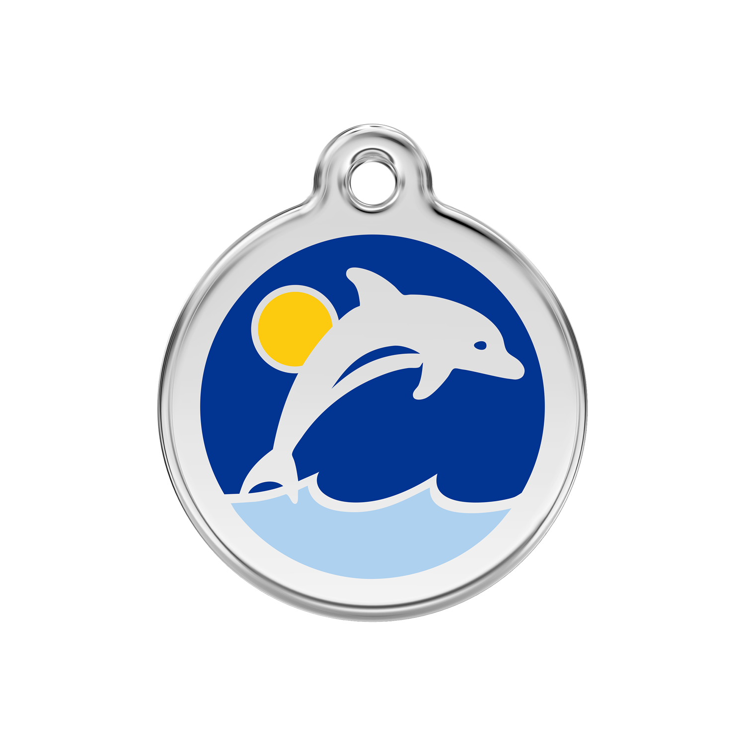 Dolphin Pet Tag