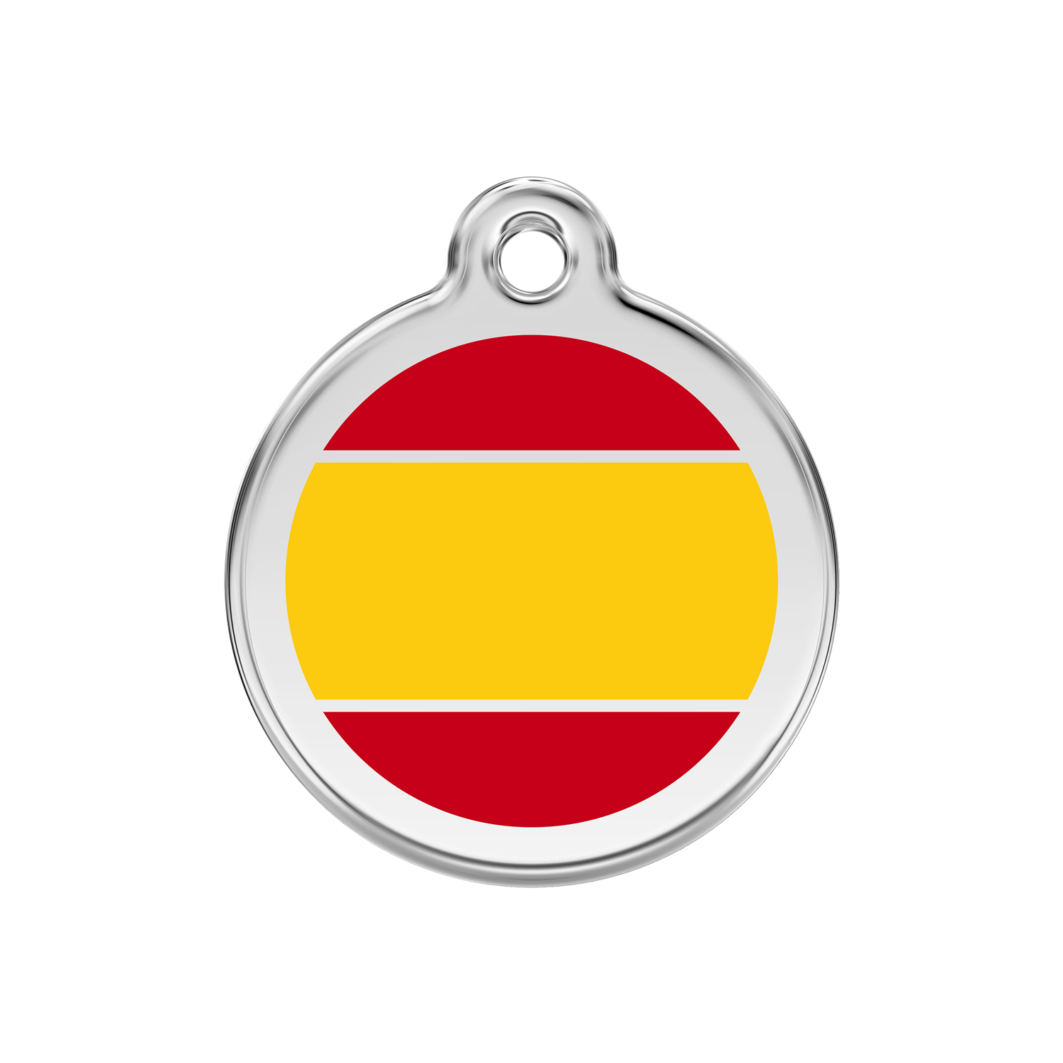 Spanish Flag Pet Tag