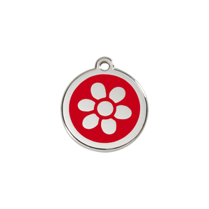 Flower Pet Tag