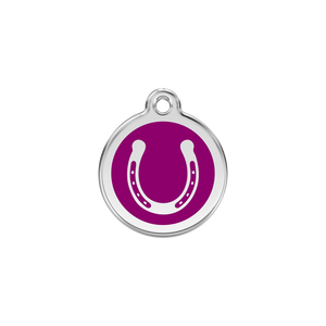 Horseshoe Pet Tag