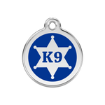 K9 Sheriff Pet Tag