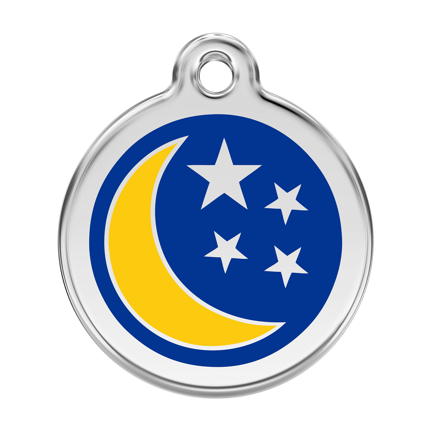 Moon & Stars Pet Tag