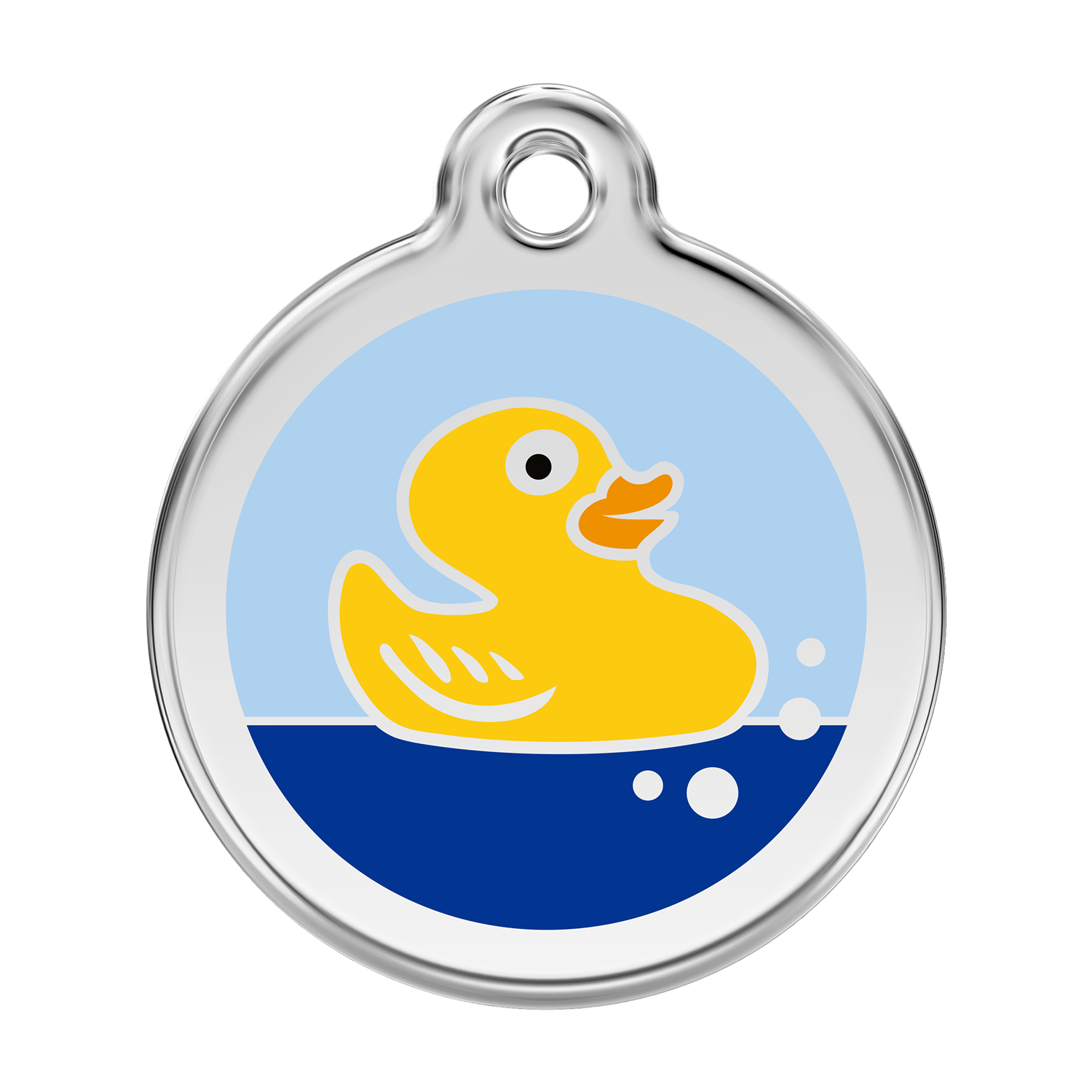 Rubber Duck Pet Tag