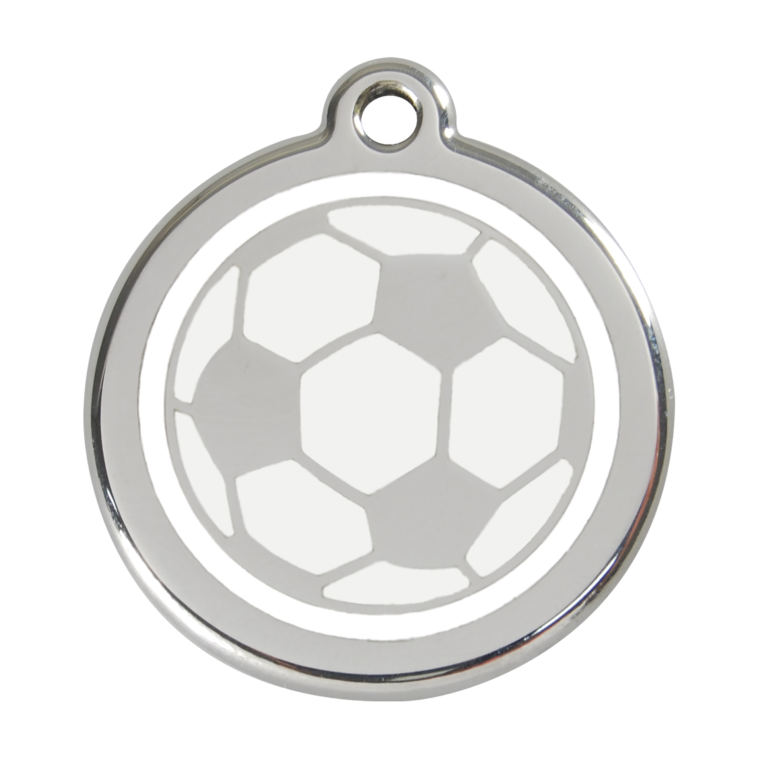 Soccer Ball Pet Tag