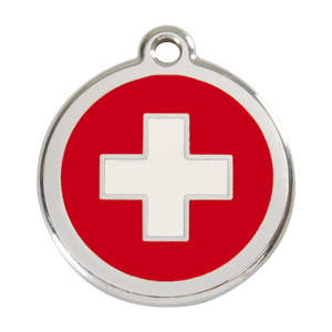 Swiss Cross Pet Tag