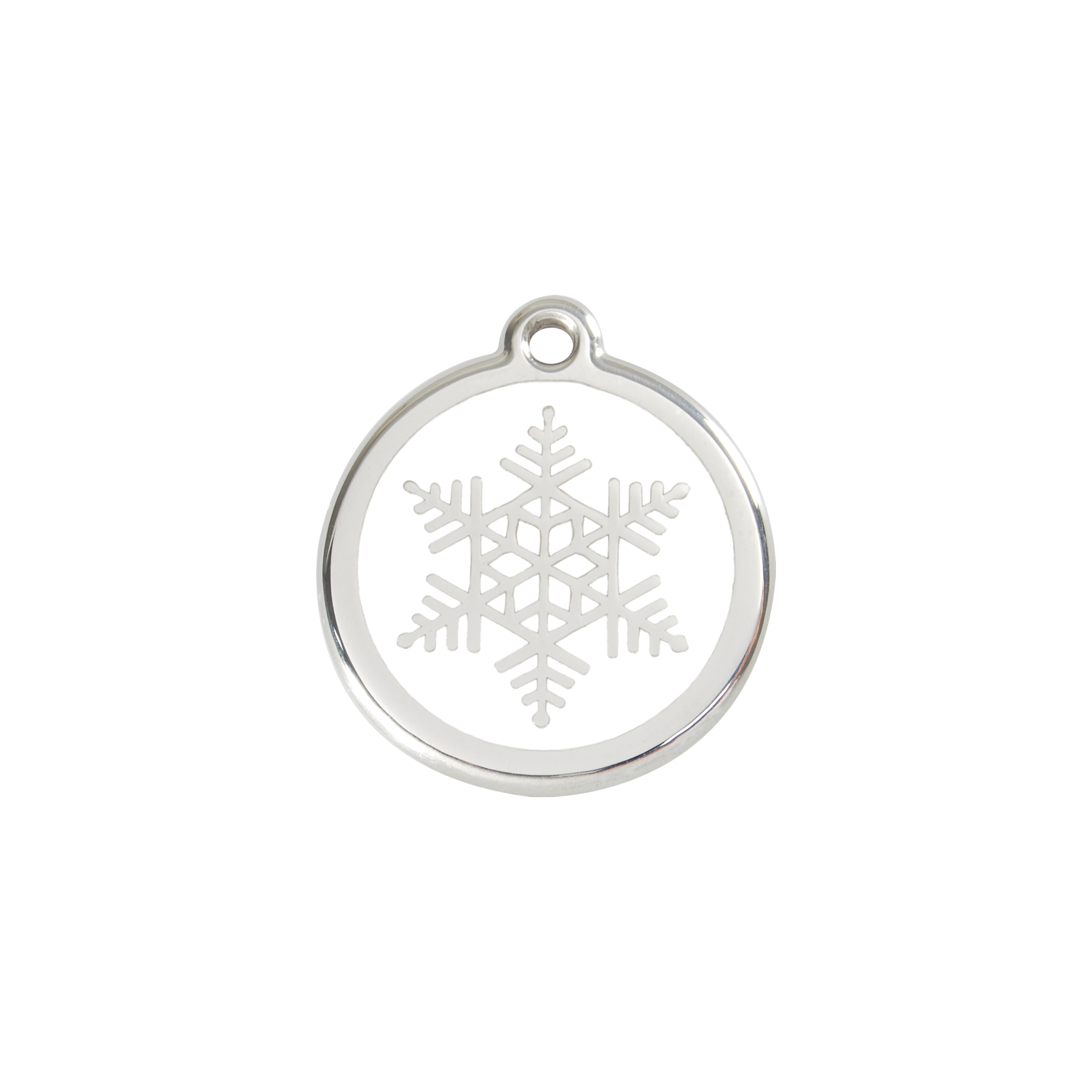 Snowflake Pet Tag