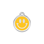 Smiley Face Pet Tag