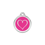 Tribal Heart Pet Tag