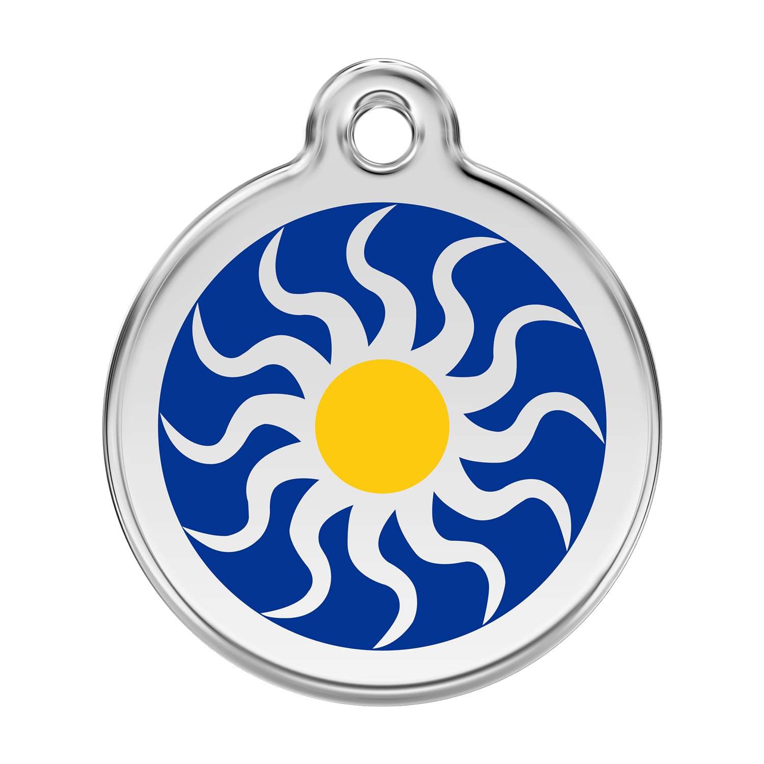 Tribal Sun Pet Tag