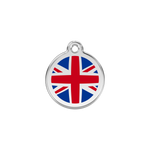 UK Flag Pet Tag