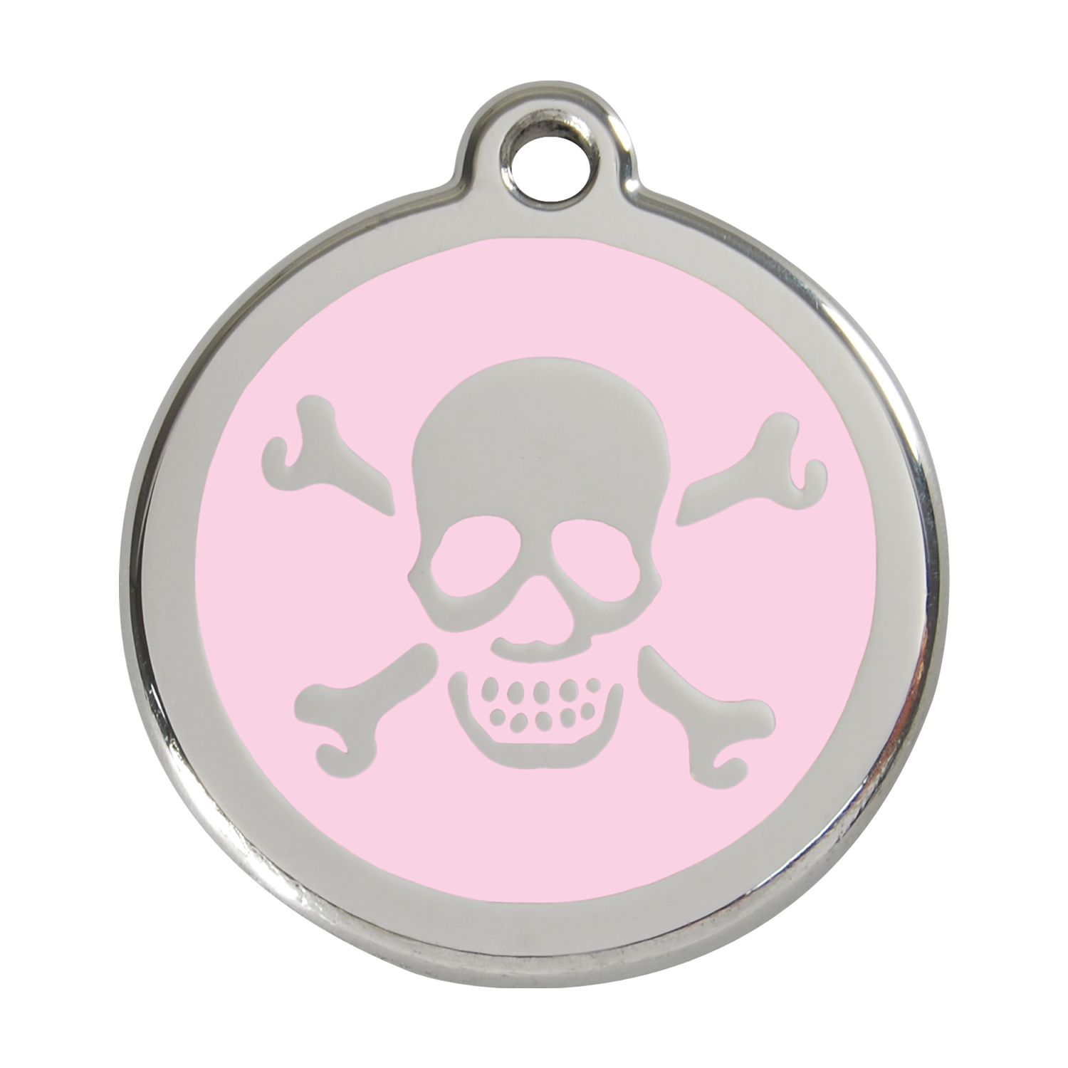 Skull & Crossbones Pet Tag
