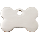 Flat Bone Pet Tag