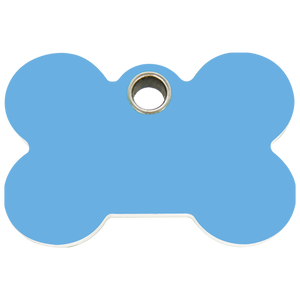Bone Plastic Pet Tag