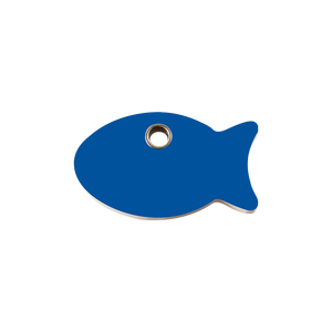 Fish Plastic Pet Tag