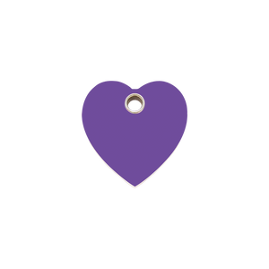 Heart Plastic Pet Tag