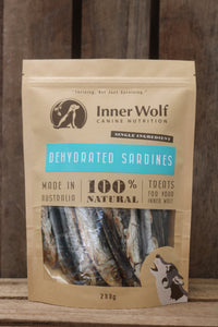 Raw Sardines - Australian wild caught - Raw Dehydrated or Raw Frozen