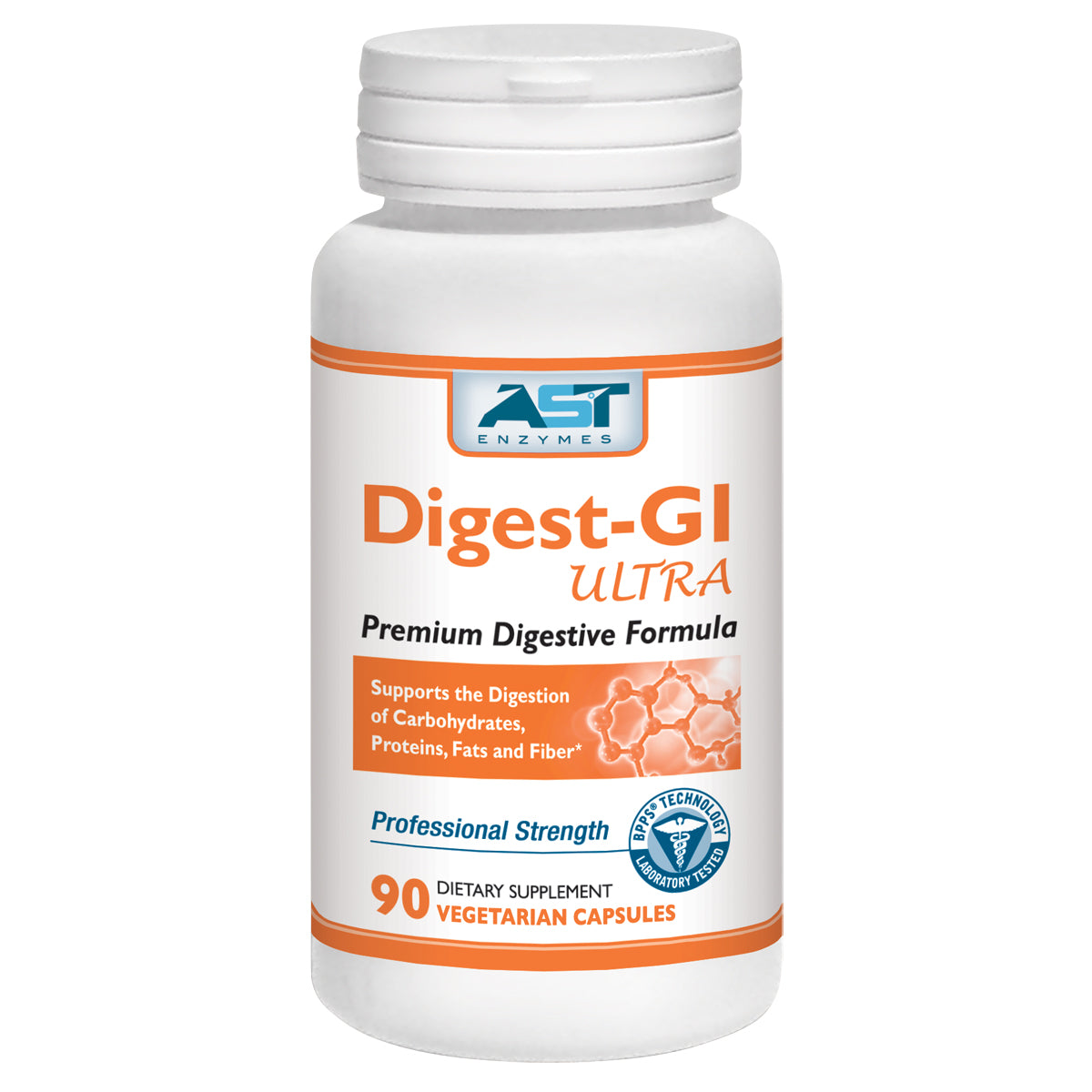 Digest- GI Ultra- Premium Digestive Enzymes - 90 Capsules