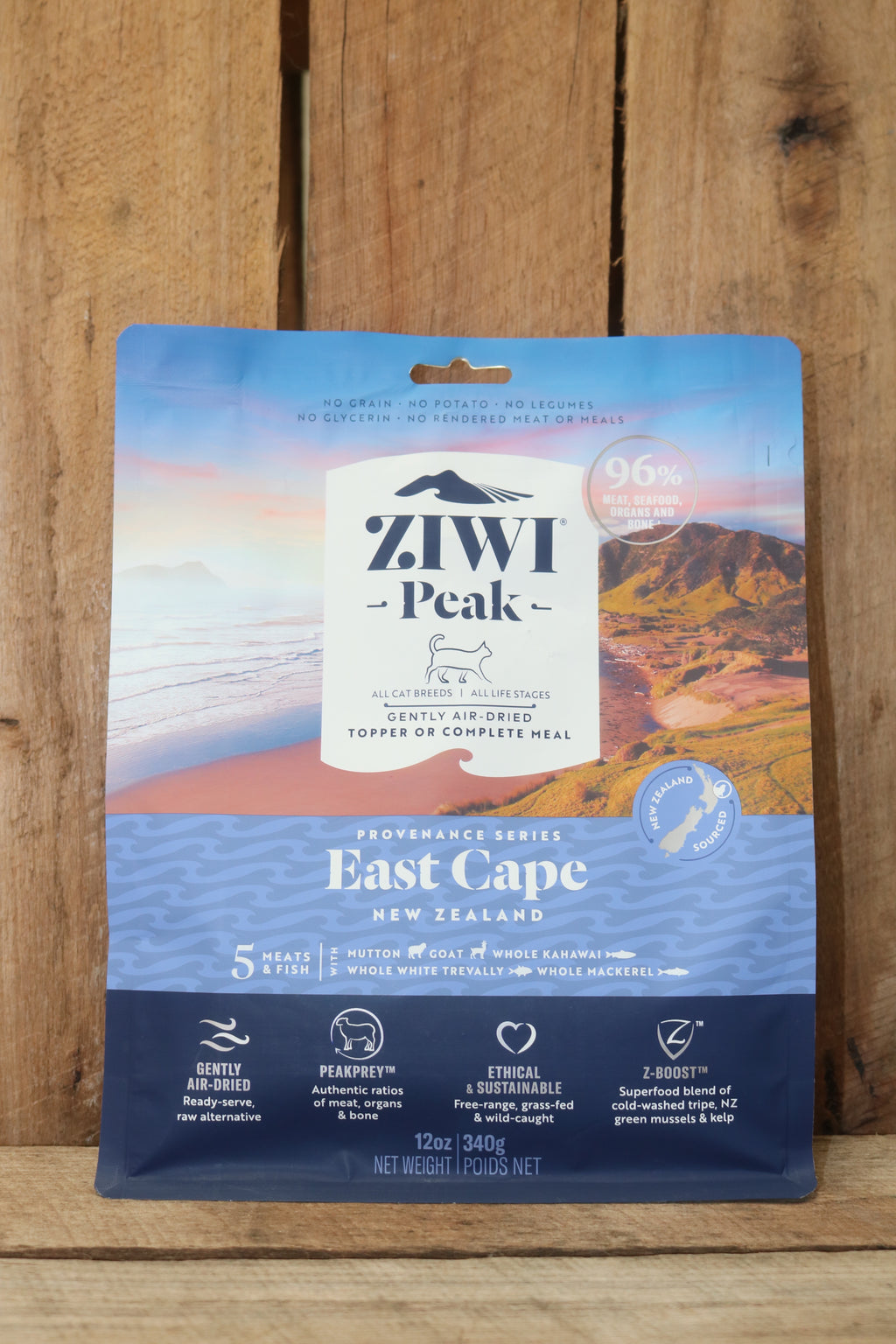 ZIWI® Peak Air-Dried Provenance Series- East Cape for Cats