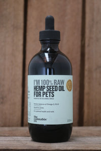 Hemp Seed Oil for pets 200ml