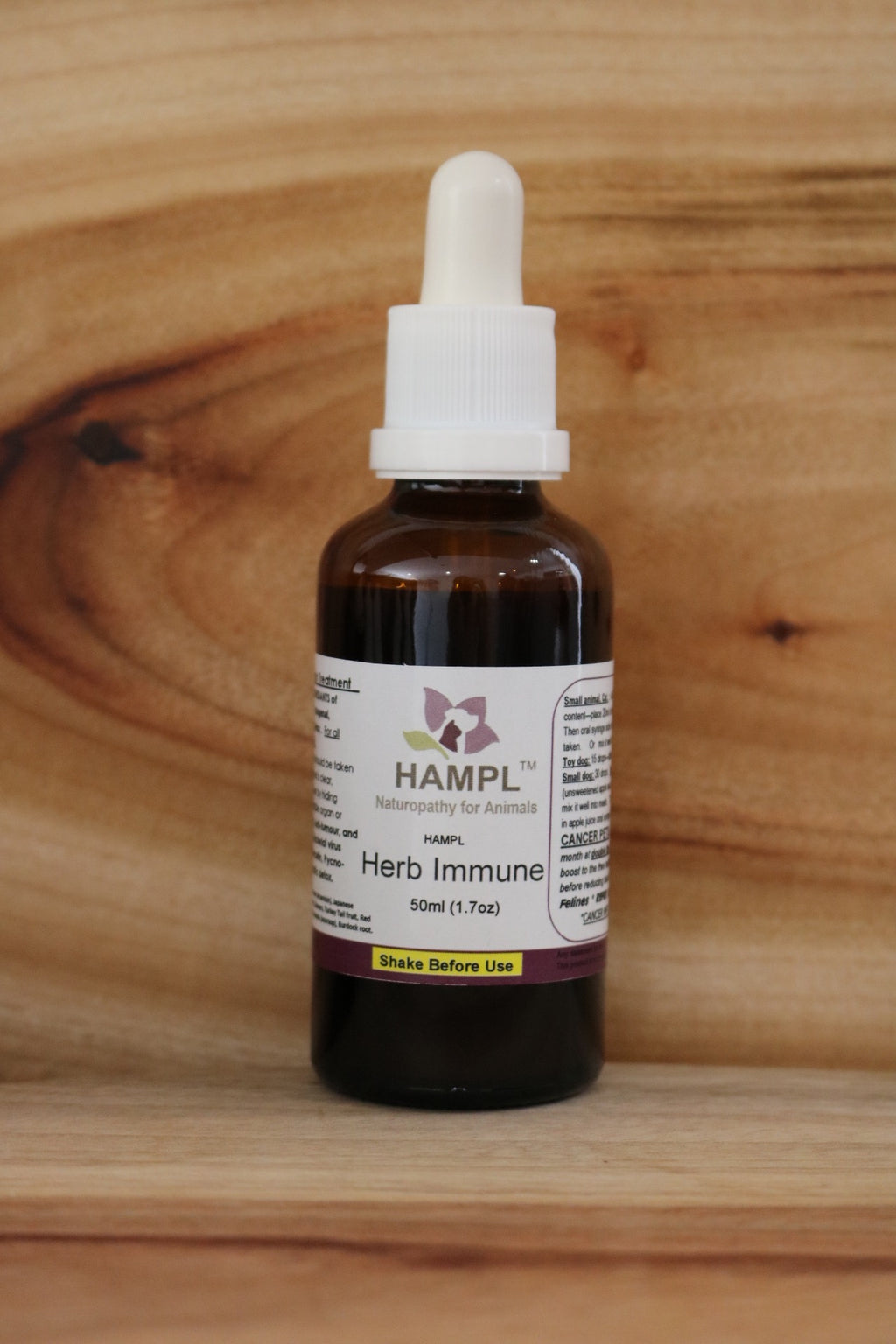 HAMPL Systemic Detox 50ml AN114 (formerly Herb Immune)