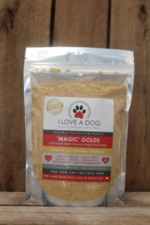 Magic Golds - Vitality and Healing Formula