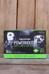 Organic Paws Powerhouse - Goat & Lamb with Leafy Greens