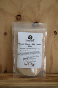 Organic Slippery Elm Powder