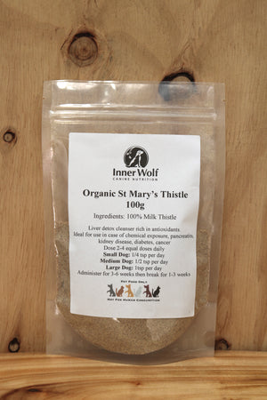 Organic St Mary's Milk Thistle 100g