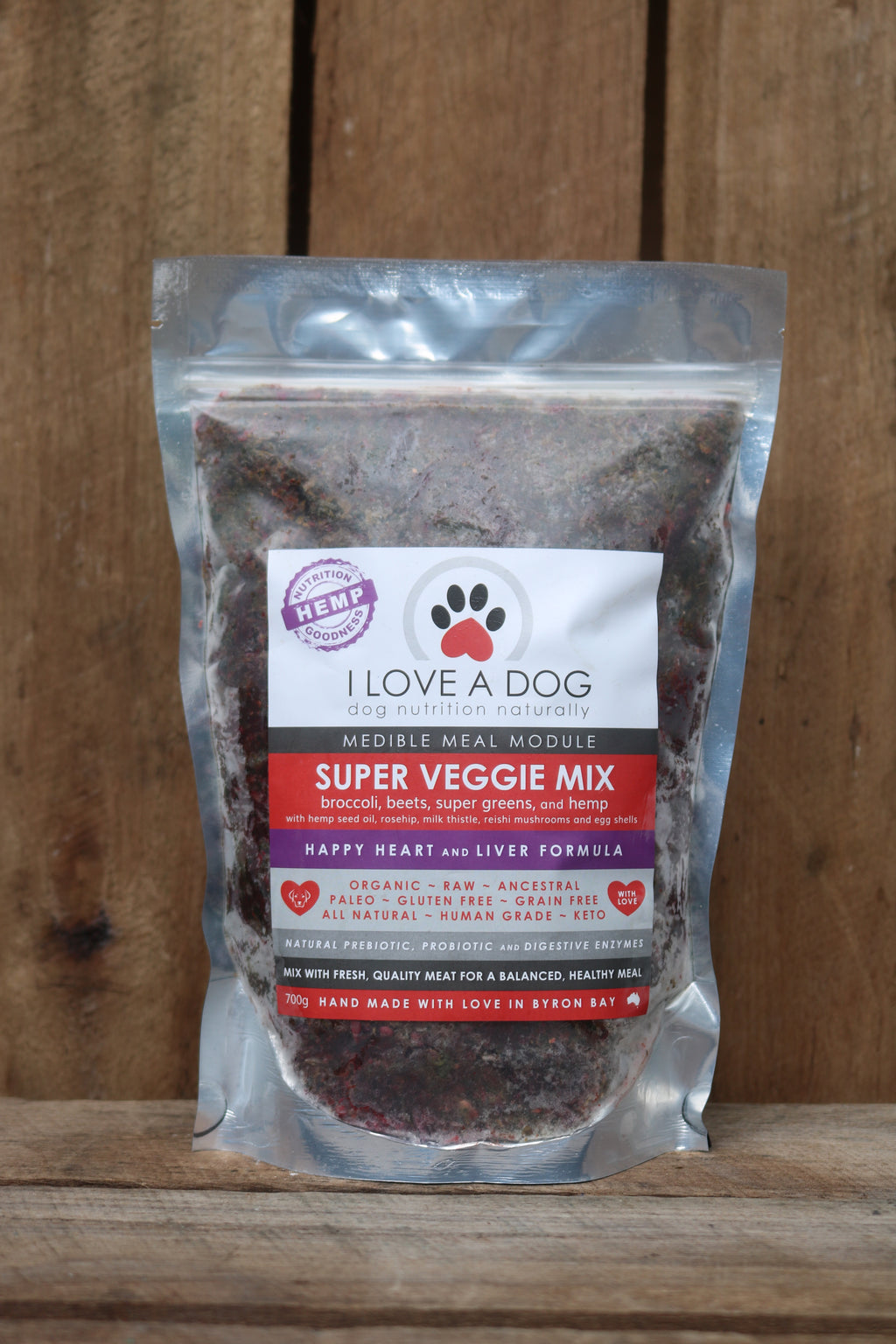 Super Veggie Mix -- Happy Heart and Liver Formula -  Frozen 700g