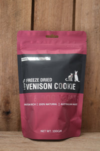 100% Venison Freeze Dried Cookie