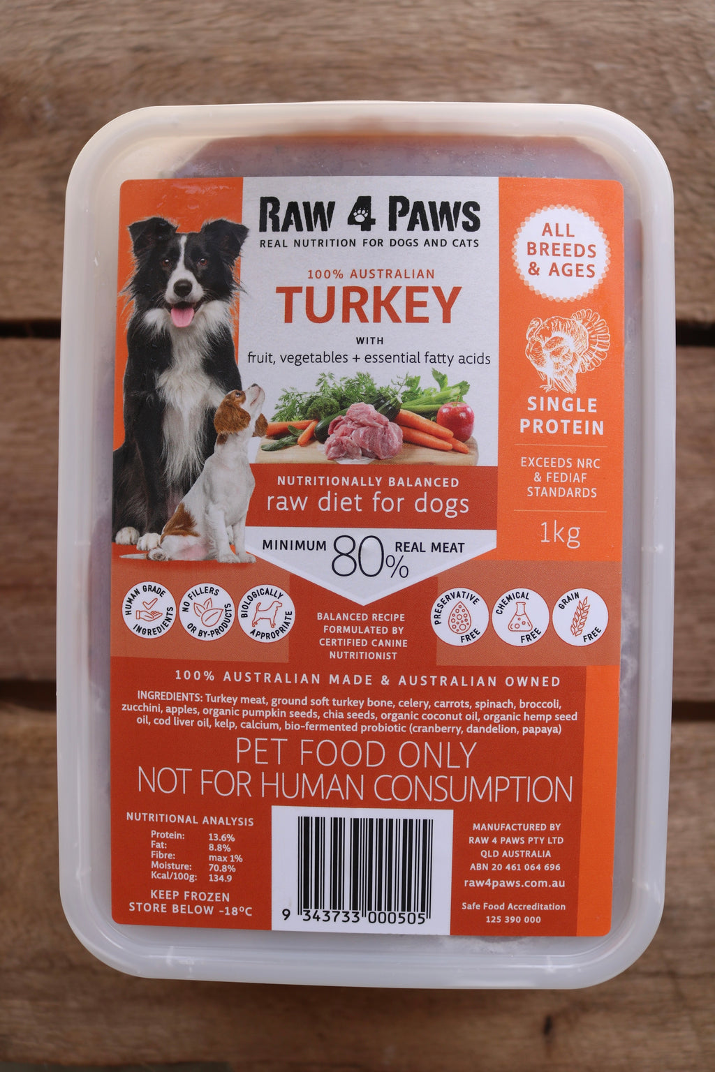 Turkey Container 1kg