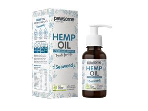 Pawsome Organics Hemp & Seaweed Oil 100mL