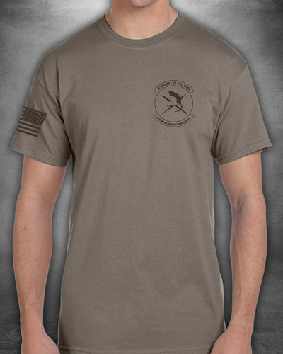 741st Coyote 60/40 Blend Unisex Shirt