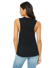 Load image into Gallery viewer, Ong Weightlifting Ladies' Flowy Scoop Muscle Tank