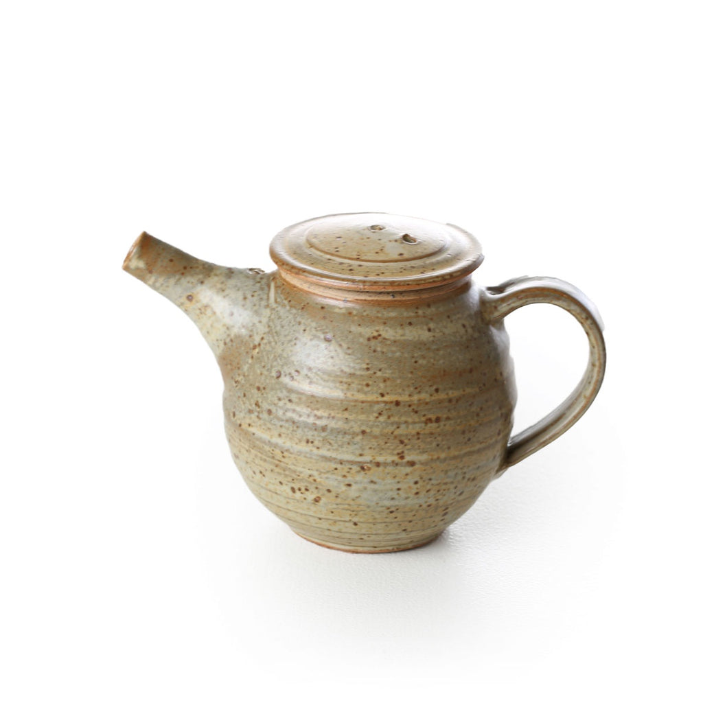 david collins - small teapot brown
