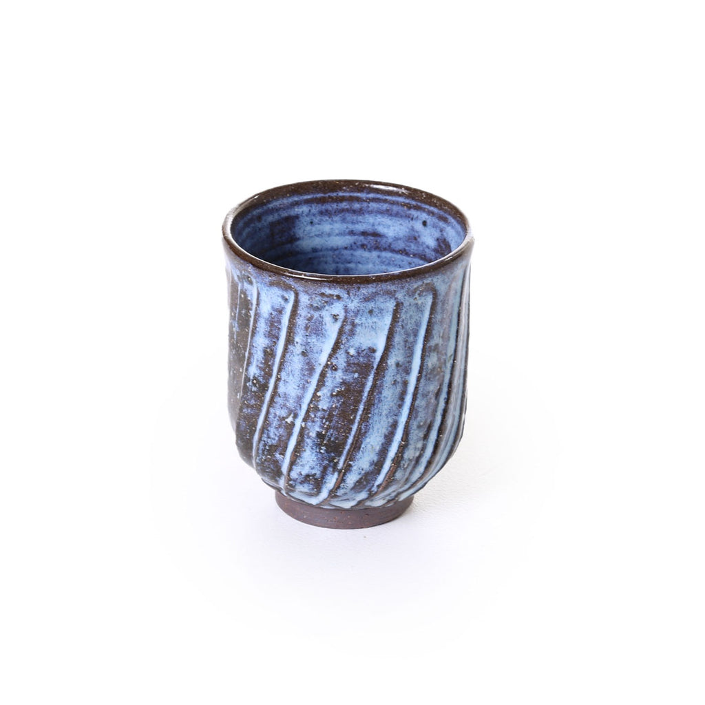 hirata - fluted pale moon cup