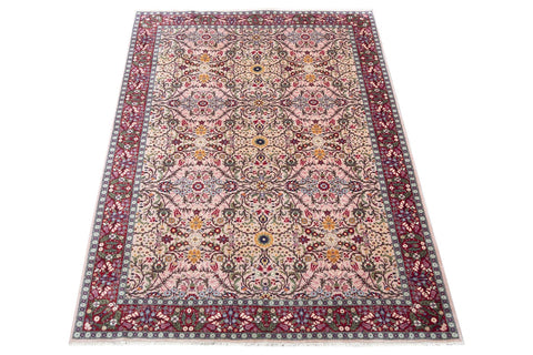 fine handknotted wool persian carpet, natural dyes - 2m x 2.8m