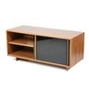 entertainment unit solid timber