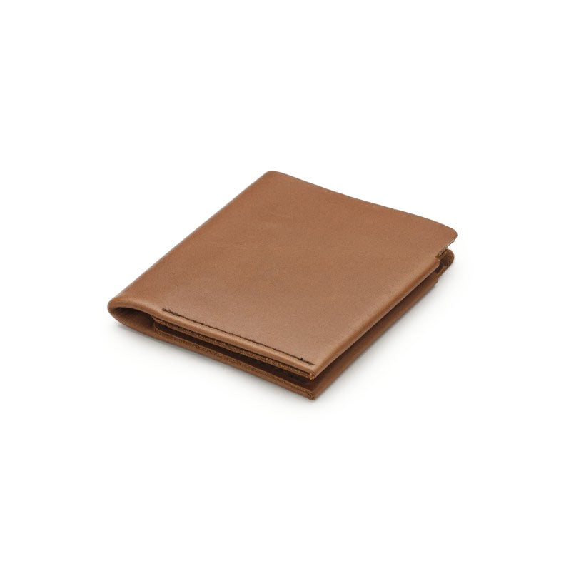 tan - card/note fold wallet