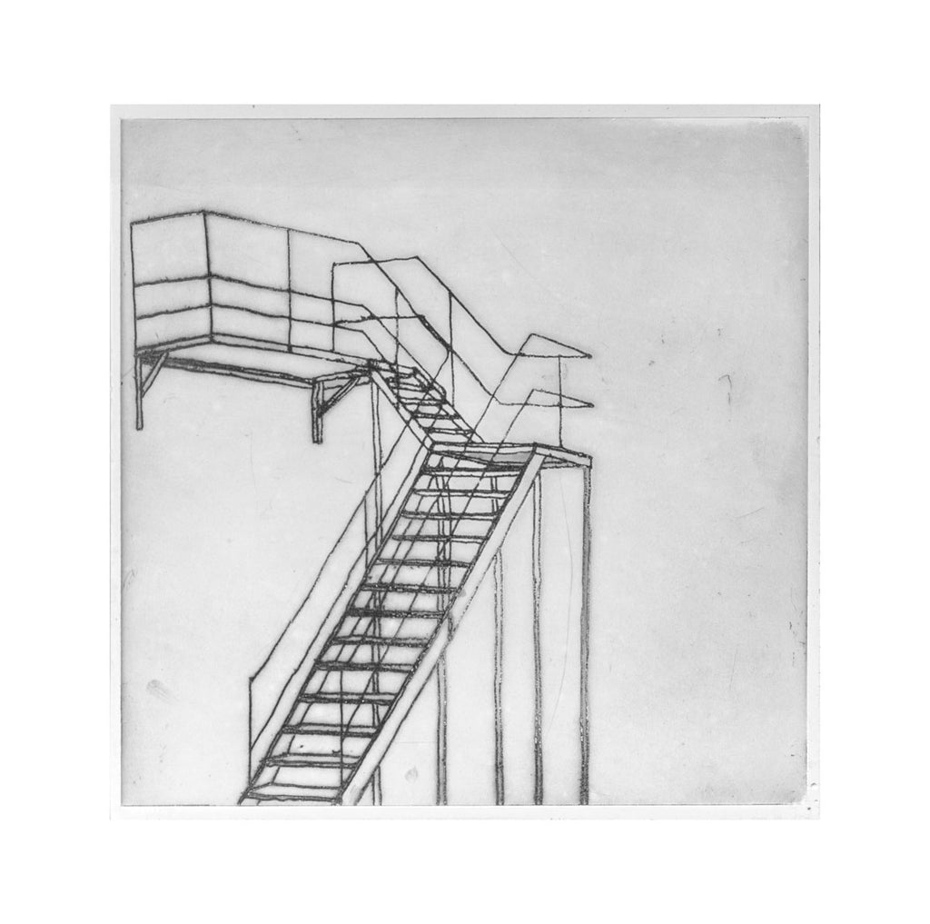bec stevens - BS#56 - staircases, ladders and bridges. burnett st studios, north hobart