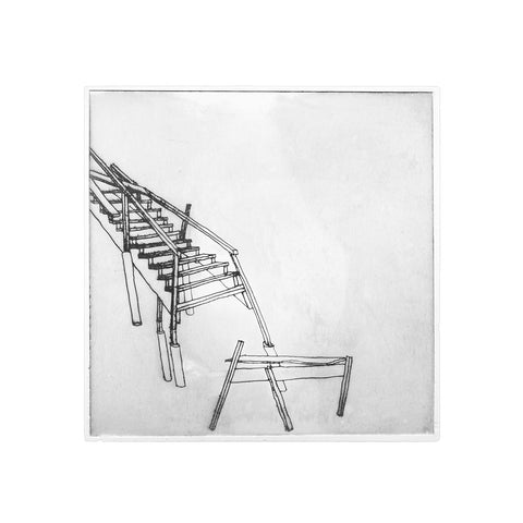 bec stevens -BS#48 - structures in collapse - beach staircase collapse